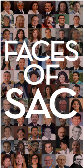 Faces representing SAC