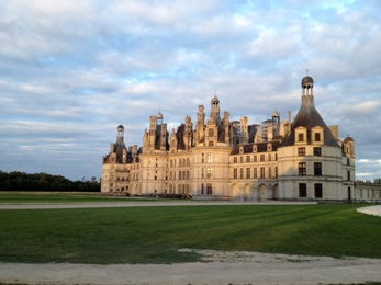 Château de Chambord at Sunset