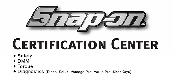 Snap on certification center
