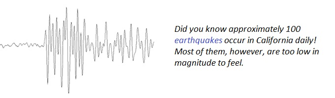 Image of an Earthquake Seismogram