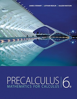 Pre-calculus textbook cover