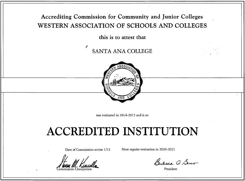 Accredited Institution Image