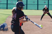 Santa Ana College softball player