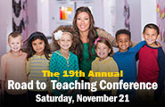 19th Annual Road to Teaching Conference icon