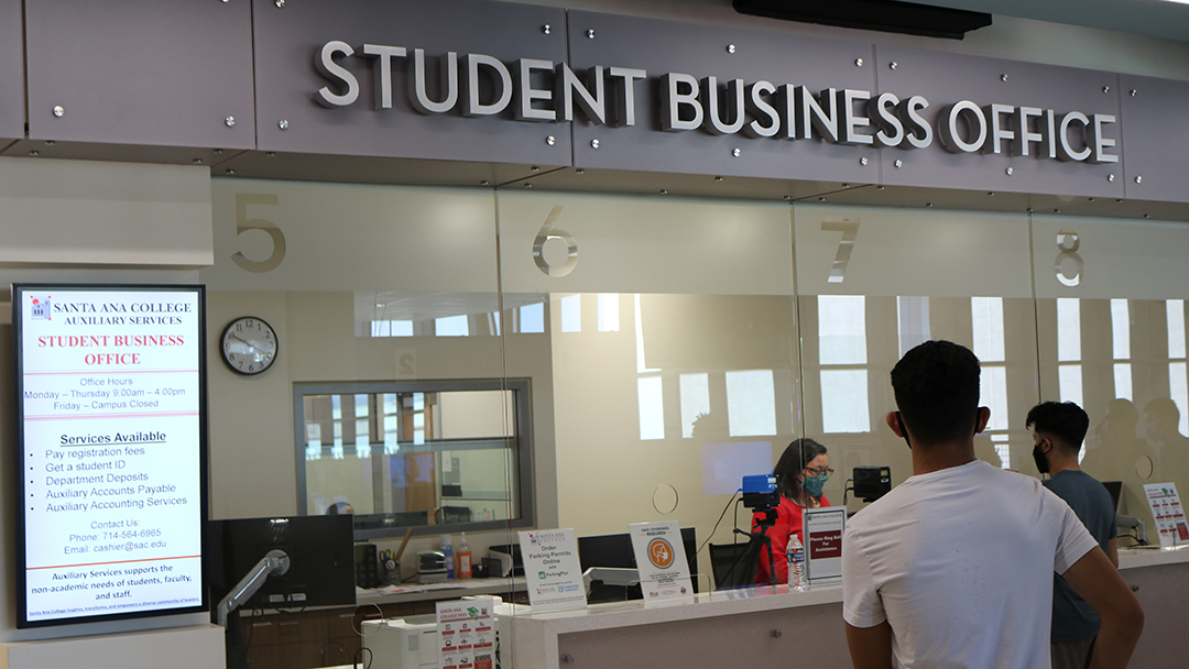 The student business office