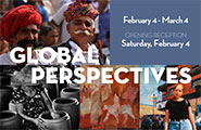 Global Perspectives art exhibit - February 4 - March 4, 2017