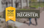 The Orange County Register Top Workplace for 2016