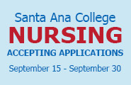 Nursing Program is accepting applications from September 15-30