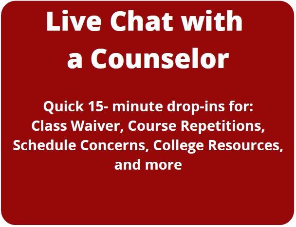 Counseling Live Chat Drop-in