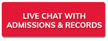 New tab to Live chat with Admissions and REcords