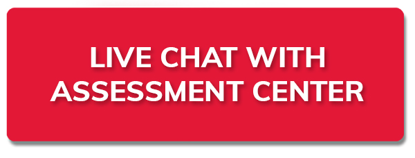new tab to Live chat with Assessment Center staff