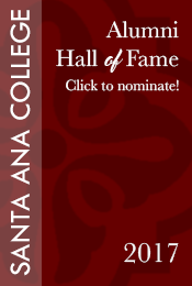2017 Santa Ana College Alumni Hall of Fame nomination
