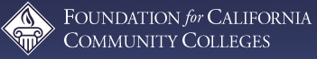 Foundation for California Community Colleges logo and web link