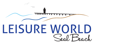 Leisure world logo and web link