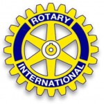 Santa Ana North Rotary Club logo and web link