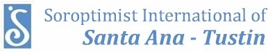 Santa Ana Tustin Soroptimist International Logo and web link